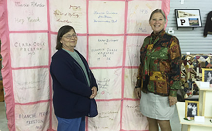 A Stitch in Time Quilt Exhibit
